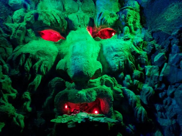 maze exit Leeds castle