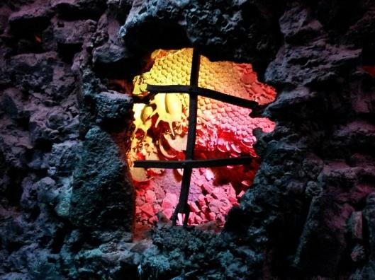 grotto lighting