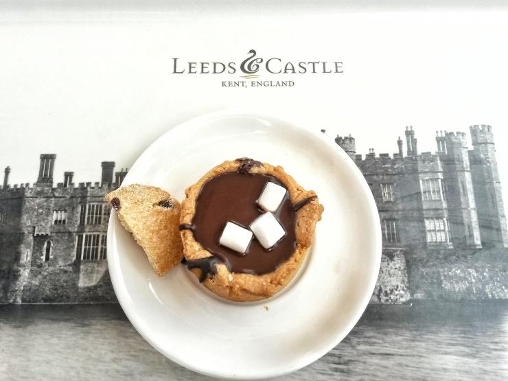 lunch dessert Leeds Castle