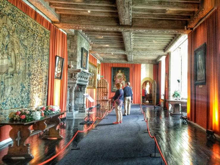 interior inside Leeds castle