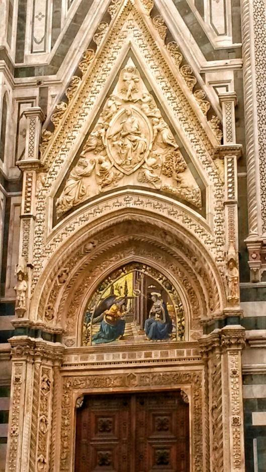 golden detail Duomo Florence
