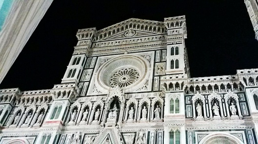 Duomo Florence at night view
