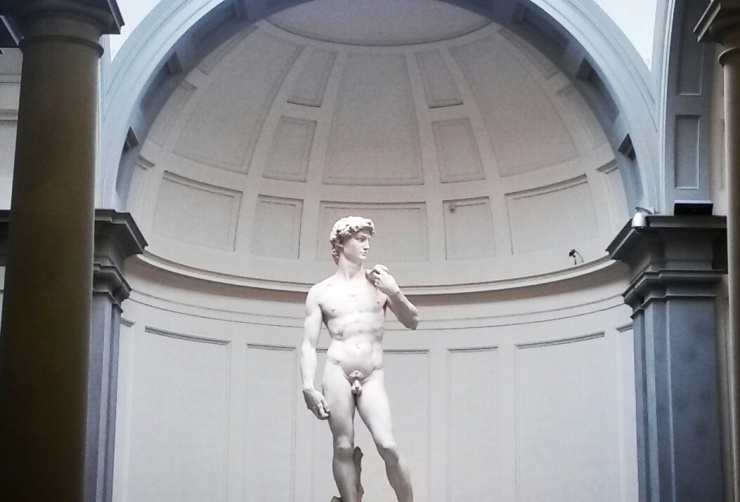 Michelangelo David sculpture Florence