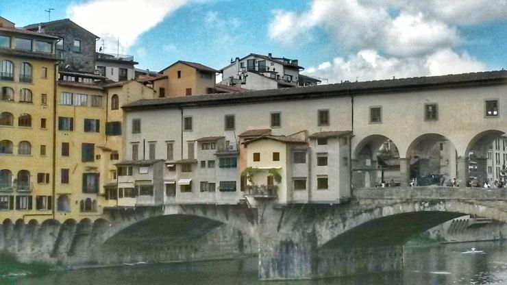 Ponte Vecchio Bridge Florence