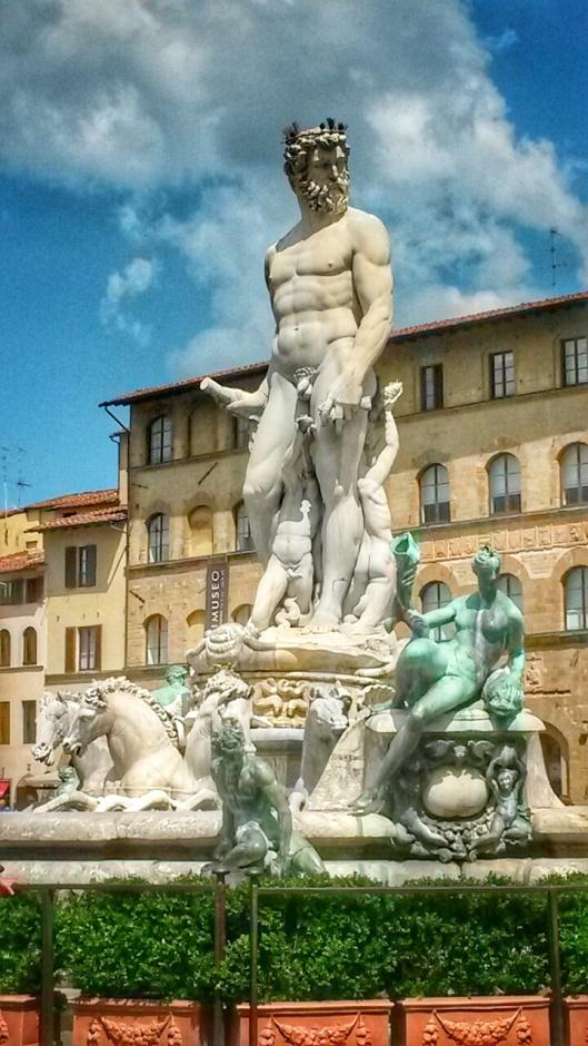 Piazza della Signoria Firenze sculpture