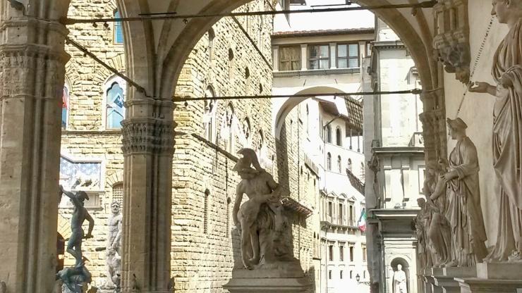 Piazza della Signoria view