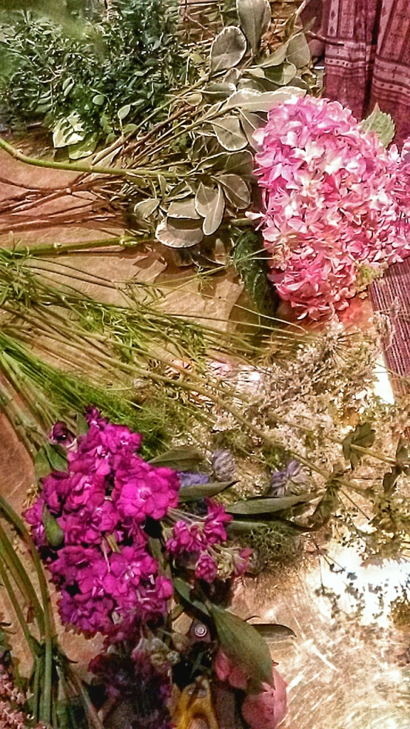 flower arranging class London