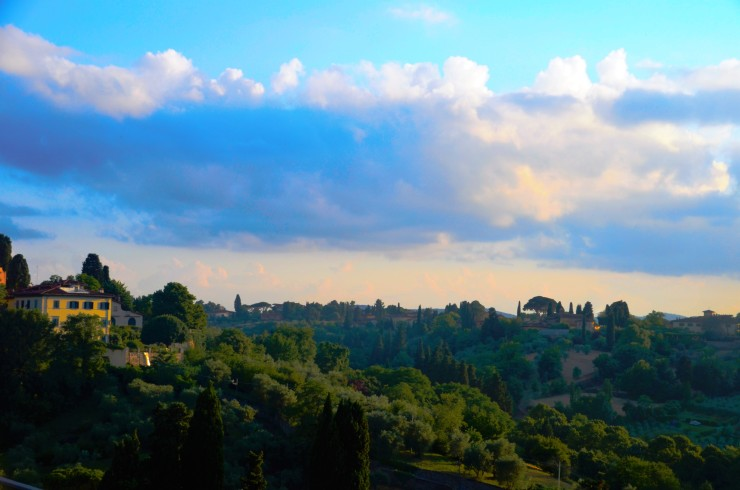 Florence Piazzale Michelangelo viewpoint