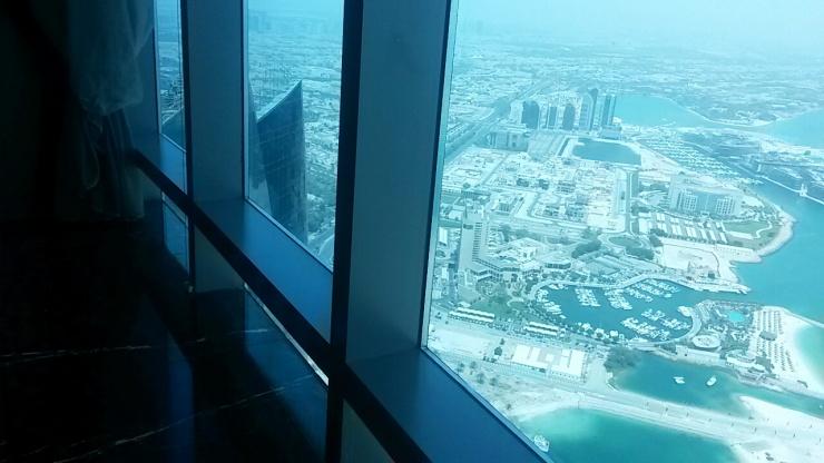 best sky views Abu Dhabi
