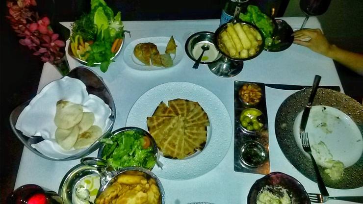 Li Beiruit dinner Jumeirah Etihad Towers