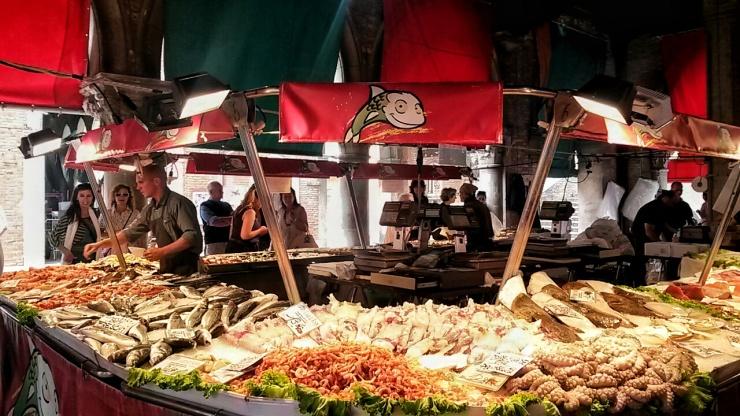 Mercado pesce fish market Venice