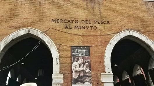 Venice fish market near Rialto