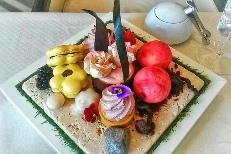 Scents summer afternoon tea desserts intercontinental
