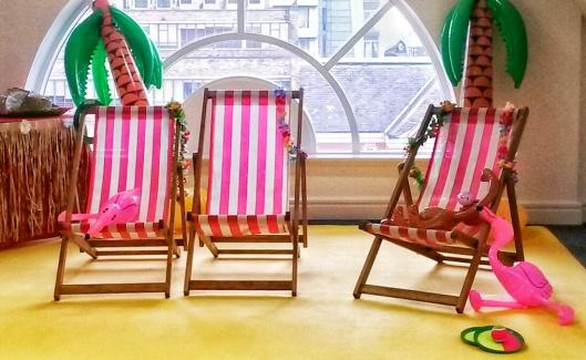 Beach travel blogger event