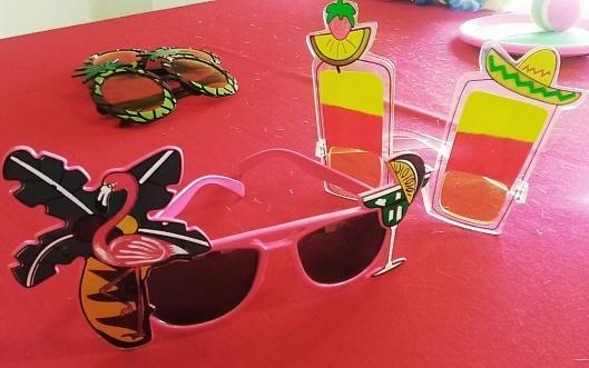 funky beach costume sunglasses