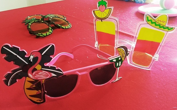 funky beach costume sunglasses