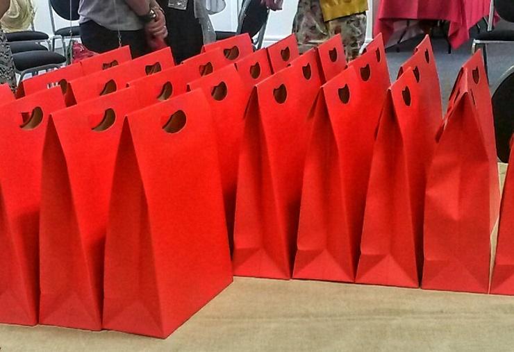 Blog At The Beach goody bag