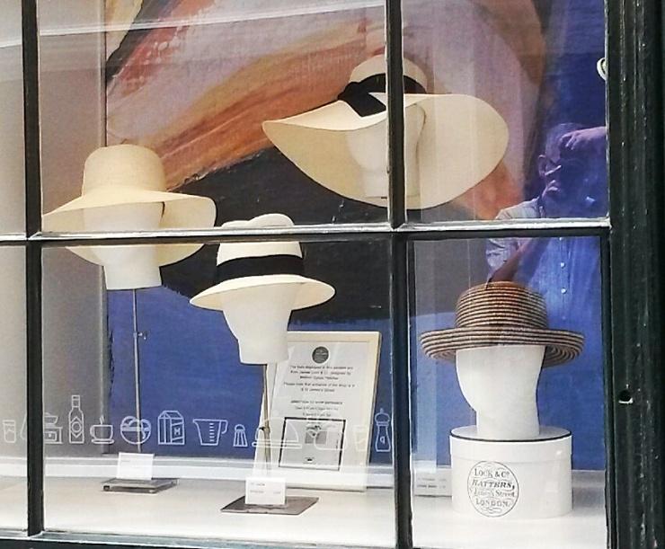 Piccadilly Milliner hat shop