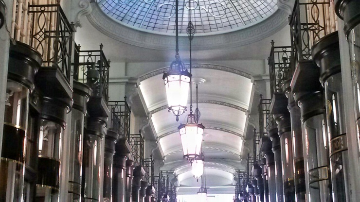 shopping arcades Piccadilly London