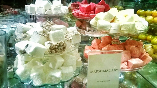 luxury marshmallow flavours Fortnum London