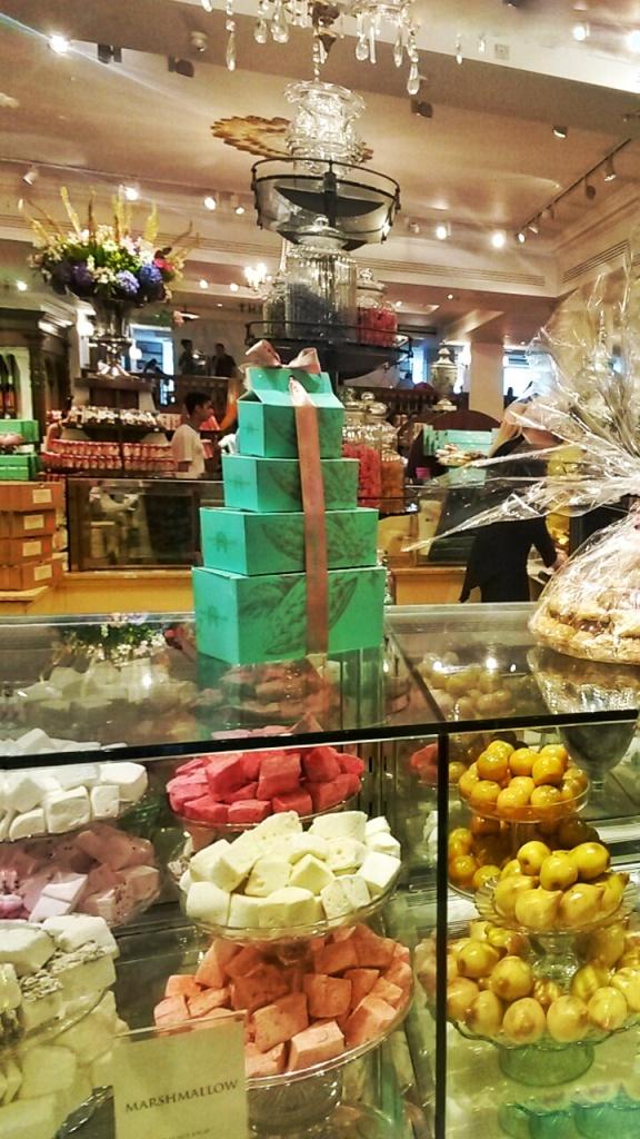 Fortnum Mason food hall desserts