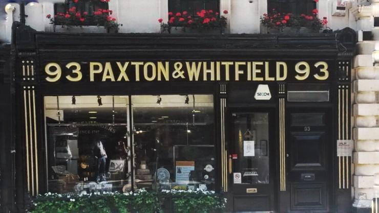 Paxton Whitfield Cheese London Churchill