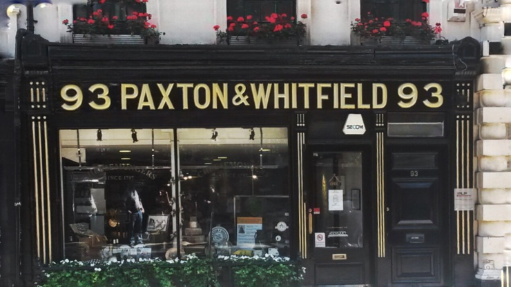 Paxton Whitfield Cheese London Churchill