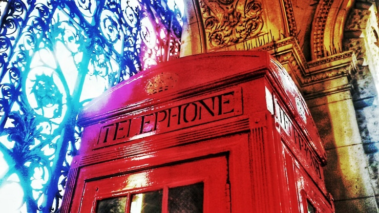 oldest red telephone box London