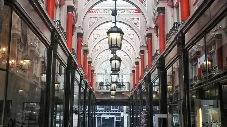 Royal Arcade Piccadilly London tour