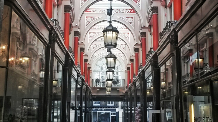Royal Arcade Piccadilly London tour