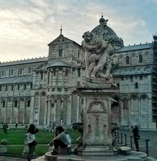 monument landmark near Leaning Tower Pisa