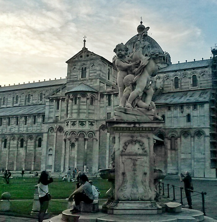 monument landmark near Leaning Tower Pisa