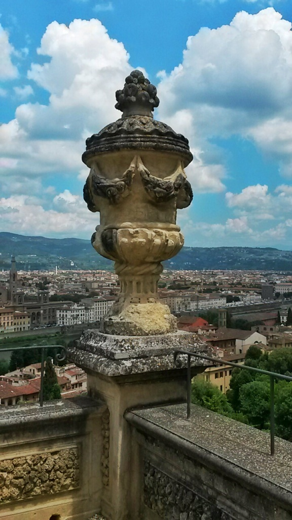 Bardini garden views sculptures Firenze