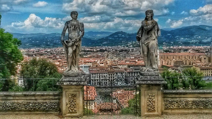 sculpture statues Bardini Gardens Florence