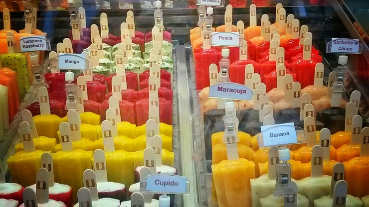 fruit popsicles ice lollies Florence