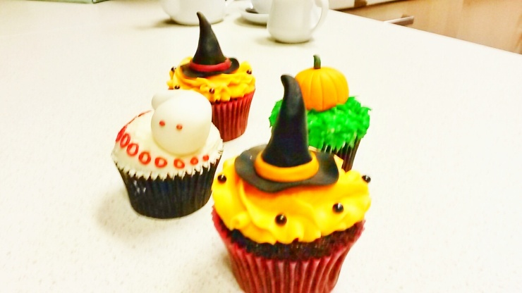 Halloween theme cupcakes London Brixton