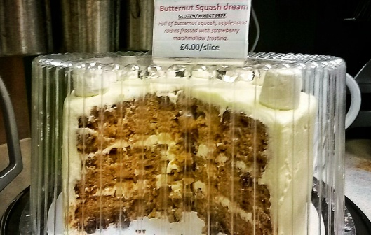 where to find butternut sqaush cake London
