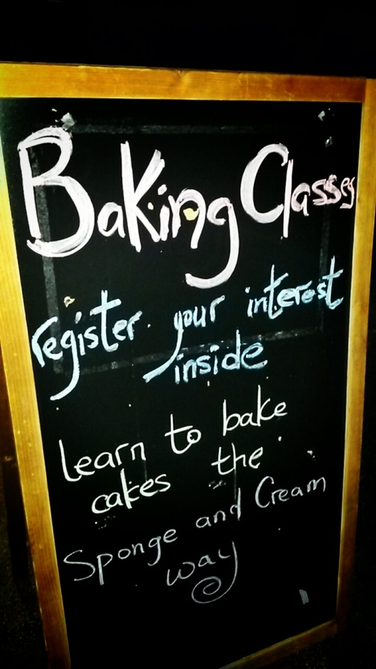 Sponge and Cream Baking Classes London
