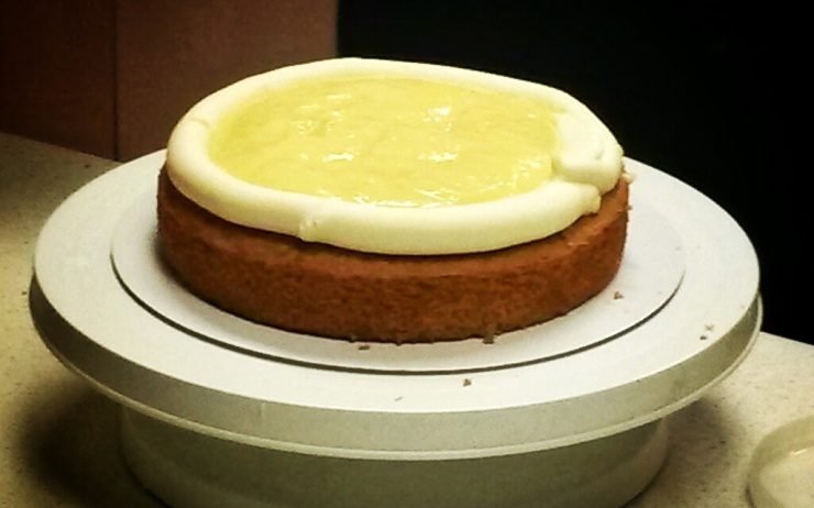 lemon curd cake London