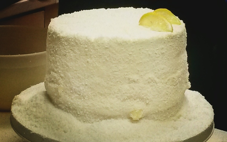 coconut lemon sandwich cake