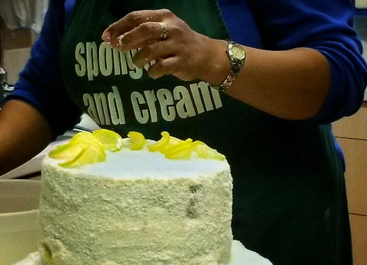 Sponge and Cream cakes London Brixton