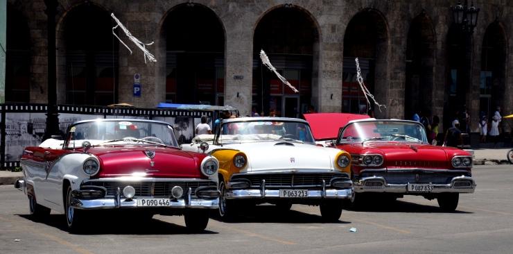 vintage car tour Havana Cuba