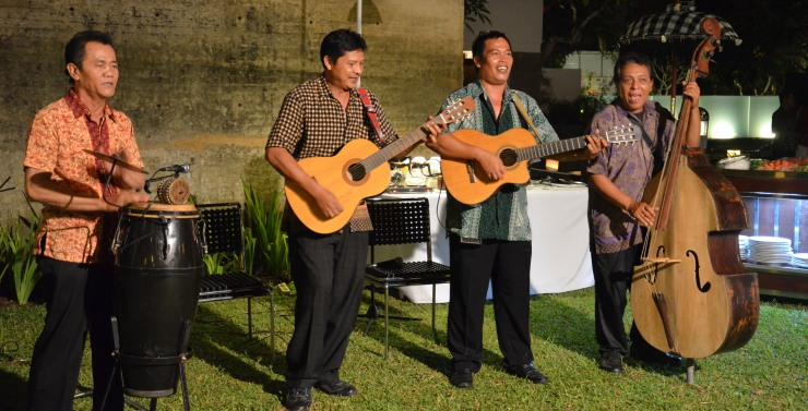 Bali hotel band live entertainment