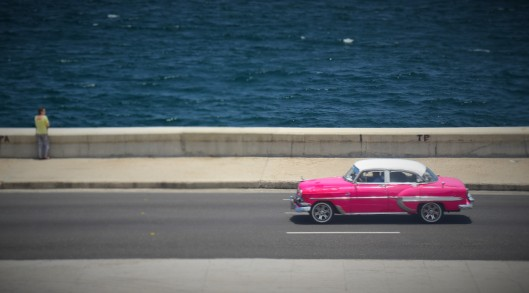 Malecon highway sea Havana Cuba
