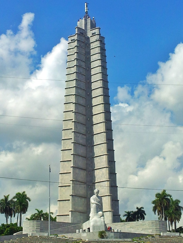Jose Marti monument Revolution Square Havana