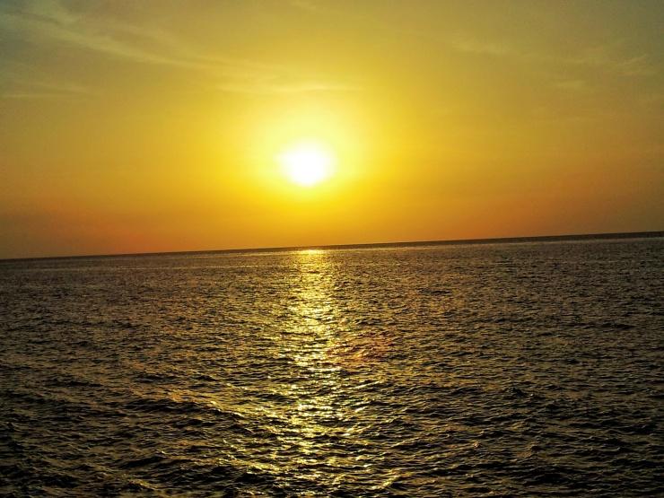 sunset Malecon Havana Cuba