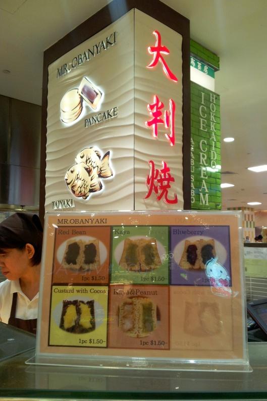 Mr Obanyaki pancake dessert Singapore
