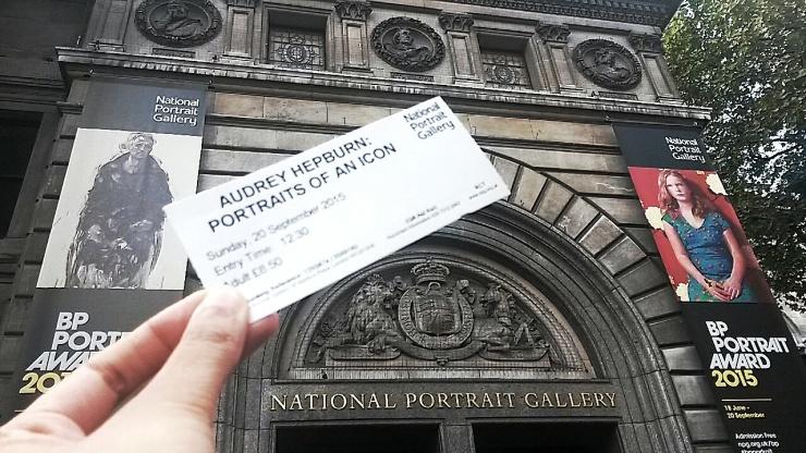 Audrey Hepburn exhibition museum London