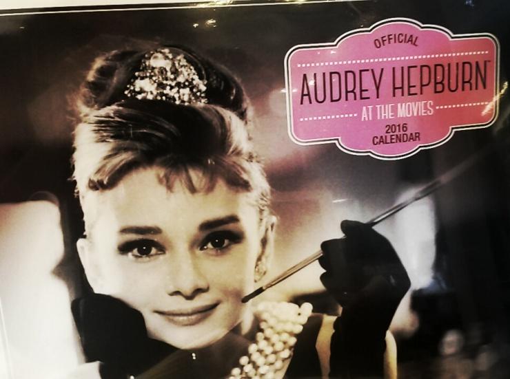 Audrey Hepburn Exhibition London calendar