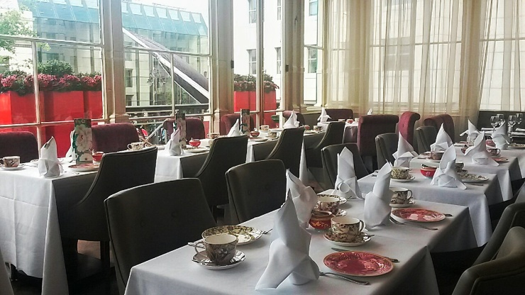 Amba Hotel afternoon tea restaurant